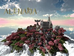 City of Alenaria {Head Into The Clouds Entry} Minecraft Map & Project