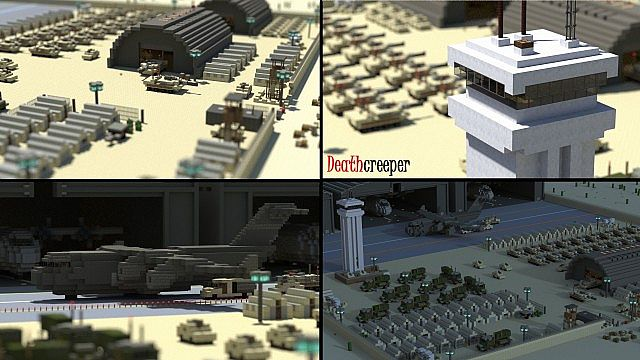how to make a army base in minecraft