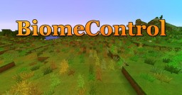 BiomeControl plugin! Minecraft Mod