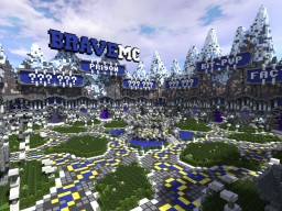 BraveMC Hub (Commission) Minecraft Map & Project