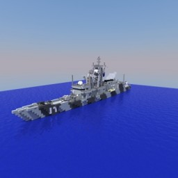 Small Custom frigate - HMNCS St. Marcus Minecraft Map & Project