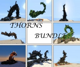 Fantasy Thorns Bundle Minecraft Map & Project