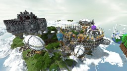 Land of Orthox - Equa Head into the Clouds Contest Entry Minecraft Map & Project