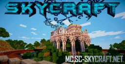 »» SKYCRAFT «« PVP   FACTION   CUSTOM DIMENSIONS  100% CUSTOM Minecraft Server