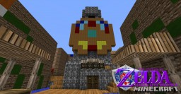 Majoras mask recreated in minecraft by linkssword123 (2014) Minecraft