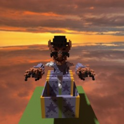 """Fred"" in a box - organics Minecraft Project"