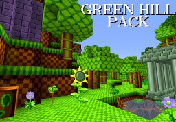 Green Hill Pack Minecraft Texture Pack