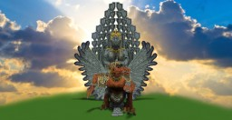 The Complete Grand Statue of Garuda Wisnu Kencana Minecraft Map & Project