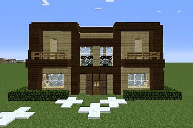 Dark Birch Wood House Minecraft Project
