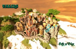 Talins- City of Clay [Head into the Clouds contest] Minecraft