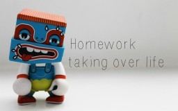 Homework taking over life Minecraft Blog