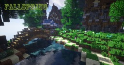FallSpring - Town Upon the Cliffs Minecraft