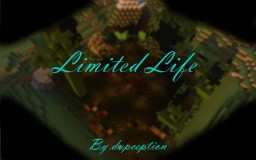 Limited Life Survival Map. Minecraft