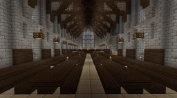 Hogwarts [paused] Minecraft Map & Project