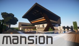 Modern Mansion Minecraft Map & Project