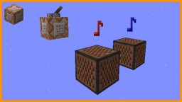 Tuned Note Blocks [Vanilla Commands] Minecraft Map & Project