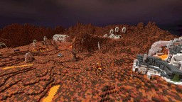Galactia - Mars (Planet) Minecraft Project