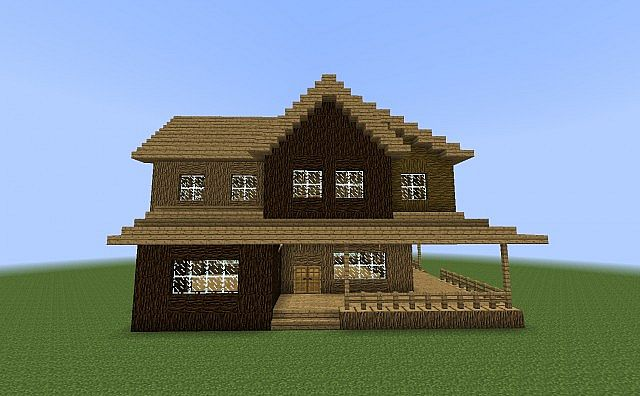 Traditional American House With Additions House M