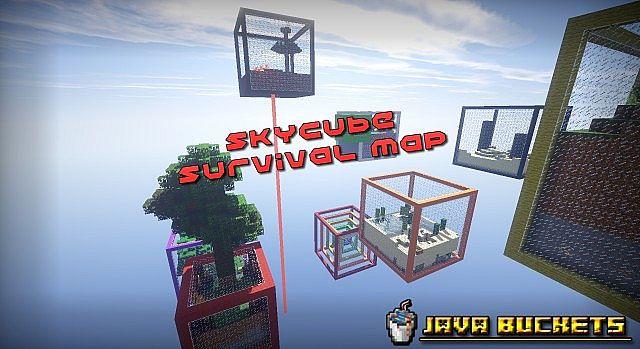 SkyCubes Survival Map V.2 Banner