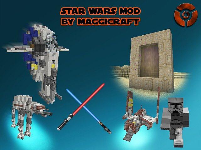 Star Wars Mod MaggiCraft - мод на звездные войны [1.7.10]