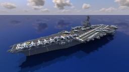 USS Enterprise CVN-65 || 1:1 Scale Minecraft