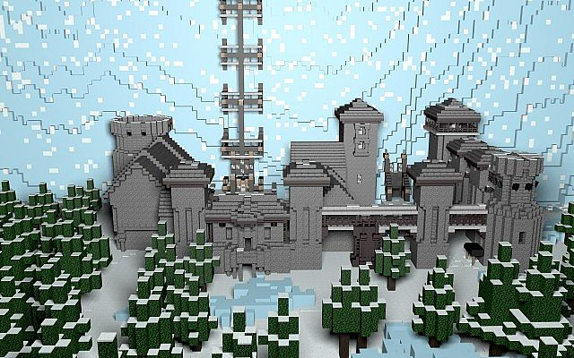 Game of thrones castle black and the wall minecraft project game of thrones castle black and the wall gumiabroncs Image collections