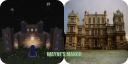 Batman - Wayne's Manor Minecraft Map & Project