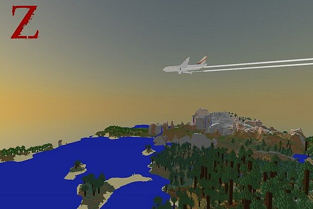 airbus a310300 world war z survival minecraft project