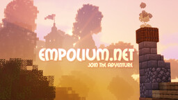 EMPOLIUM.NET 1.17 (SMP) ► EARTH MAP   MCMMO   TOWNY   ECONOMY   NEW SERVER! Minecraft Server
