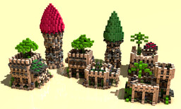 Medieval Desert Pack Minecraft Map & Project