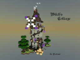 Witch's Cottage Minecraft Map & Project