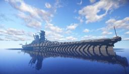 IJN Battleship YAMATO Minecraft Project