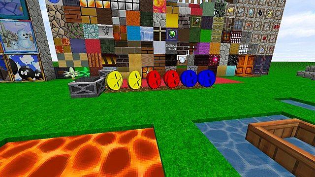 Mario 64 HD 256X256 Minecraft Texture Pack