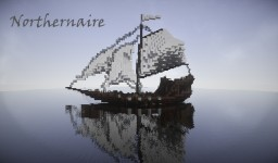 Northernaire | Tauber Warship | The Tales of Runebrire Minecraft Project