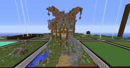 32x32plot: Medieval Fantasy House Minecraft Map & Project