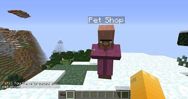 Pets Bukkit 1 7 9 Minecraft Mod