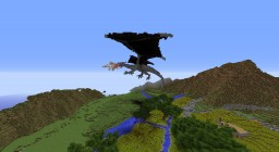 The Hobbit Inspired Dragon Minecraft Map & Project