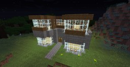 Garden-Themed Library Minecraft Map & Project