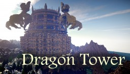 Dragon Tower (Part of Dragon Survival Map) Minecraft Map & Project