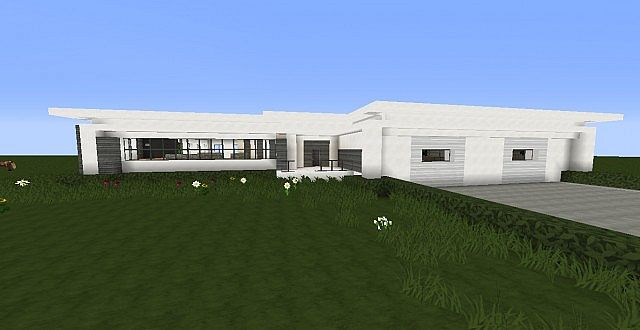 Story Modern House By Cheezbergur Furnished Minecraft Project - Modern house 1 story