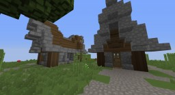 Medieval House/Shack Minecraft Map & Project