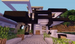 - - Gladiance - - Modern House [Download Coming Soon] Minecraft Map & Project