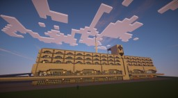 Marine terminal St. Peterburg Minecraft Map & Project