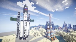 Kosmodrom 'Museiniy' (Discontinued) Minecraft Project