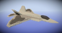F-22 Raptor (Timelapse) Minecraft Project