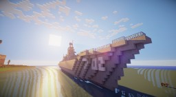 """Pylkiy"" - patrol frigate. Minecraft Map & Project"