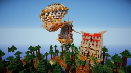 MINI Sky houses Minecraft Map & Project