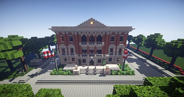 Minecraft police station world of keralis minecraft project minecraft police station world of keralis gumiabroncs Gallery