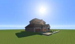 Suburban House Minecraft