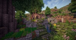 Project | Ver'Toitures, a spring village Minecraft